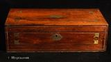 Antique Regency Writing Box/ Lap Desk in figured Rosewood circa 1815
